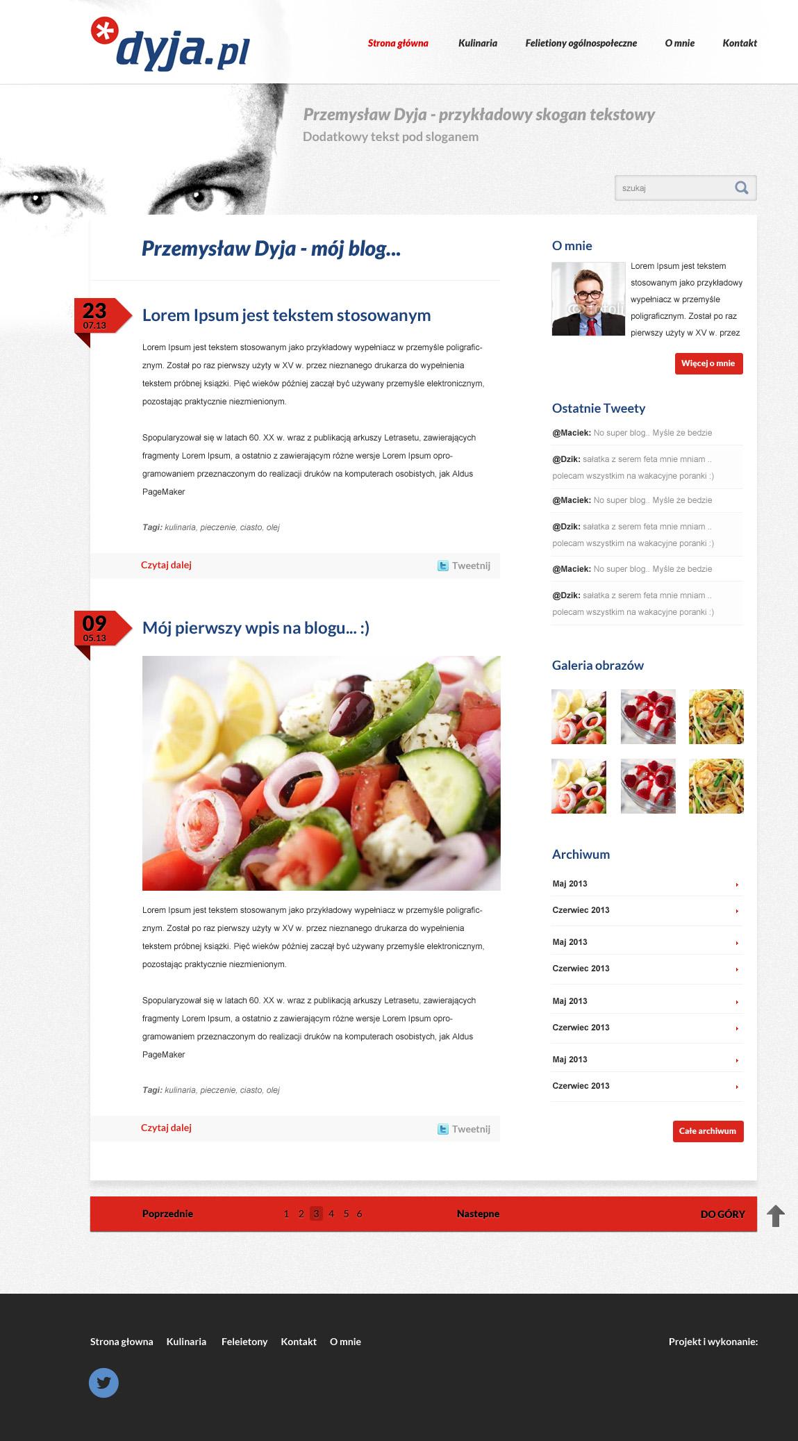 Blog kulinarny 1