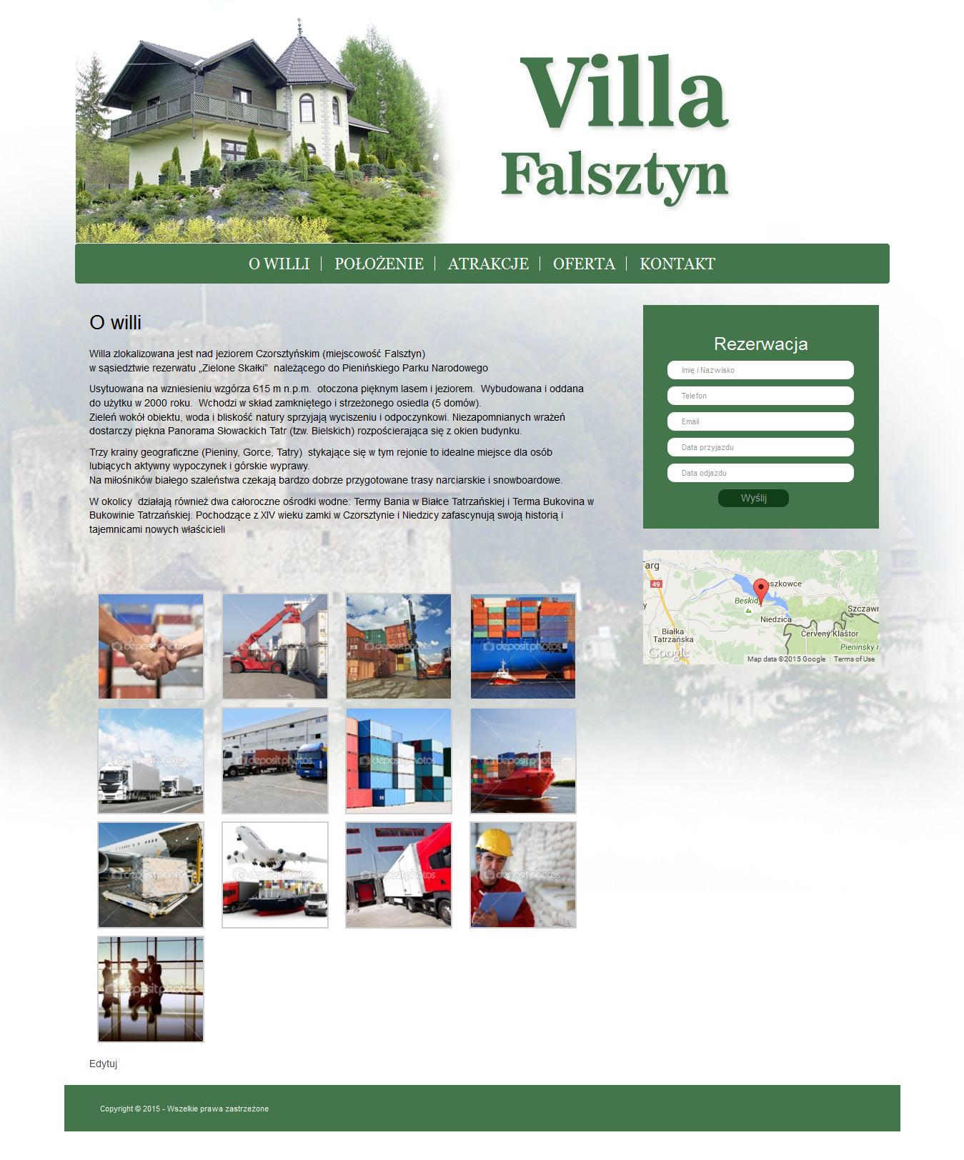 Villa Falsztyn 1