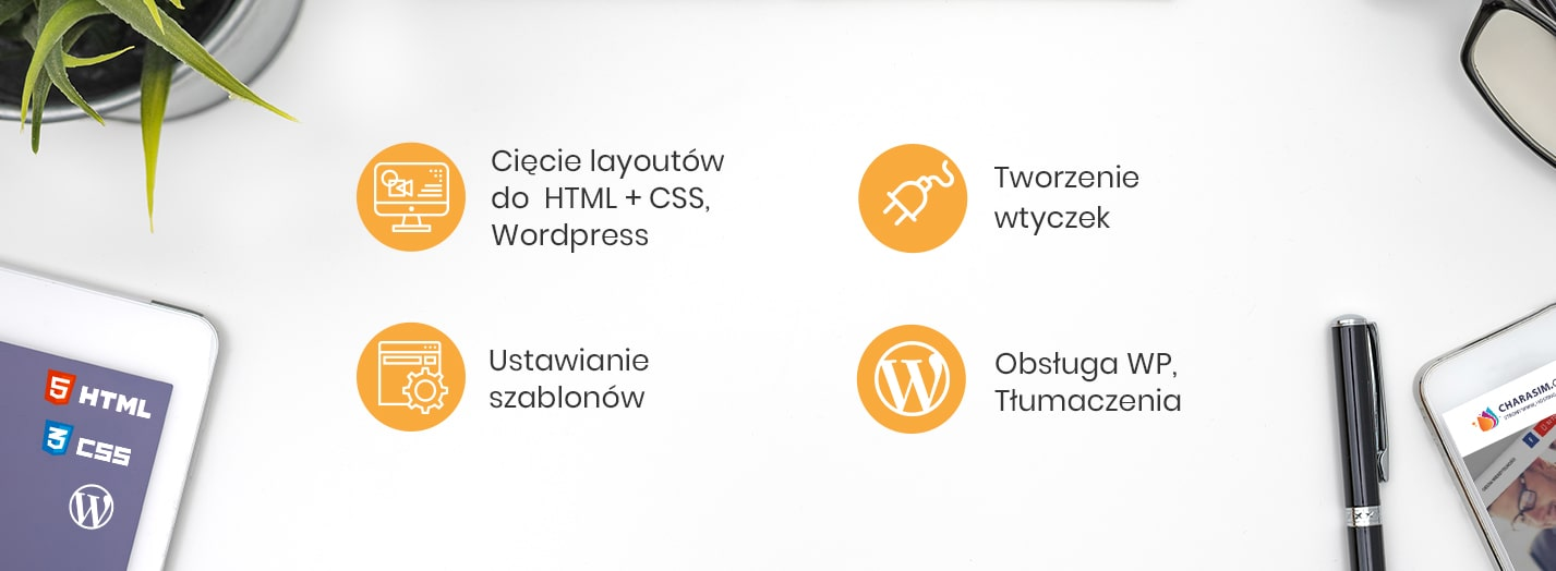 Banner html, css, wtyczki wordpress